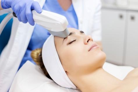 Anti-aging treatment, IPL laser, photo skin therapy